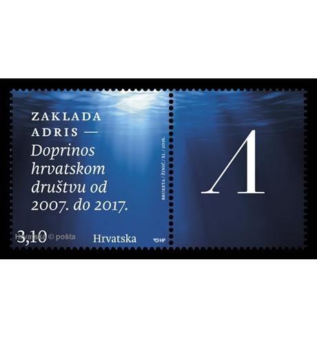 Zaklada Adris – doprinos hrvatskom društvu, 2007. – 2017.