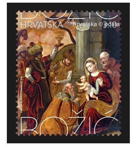 Božićna poštanska marka – čuvar tradicije
