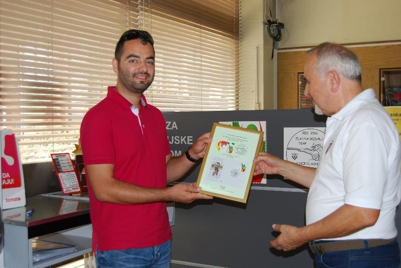 Prigodni poštanski žigovi posvećeni Josipu Glasnoviću i braći Sinković