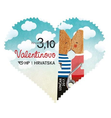 Prigodna poštanska marka koja slavi ljubav