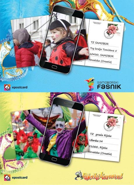Najrazglednice fašnika i karnevala