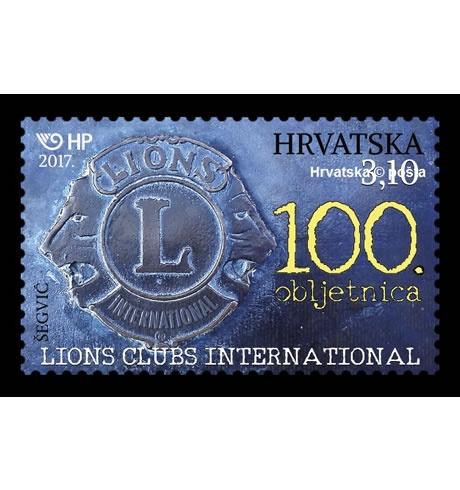 "Prigodna poštanska marka ""Lions Clubs International – 100. obljetnica"""