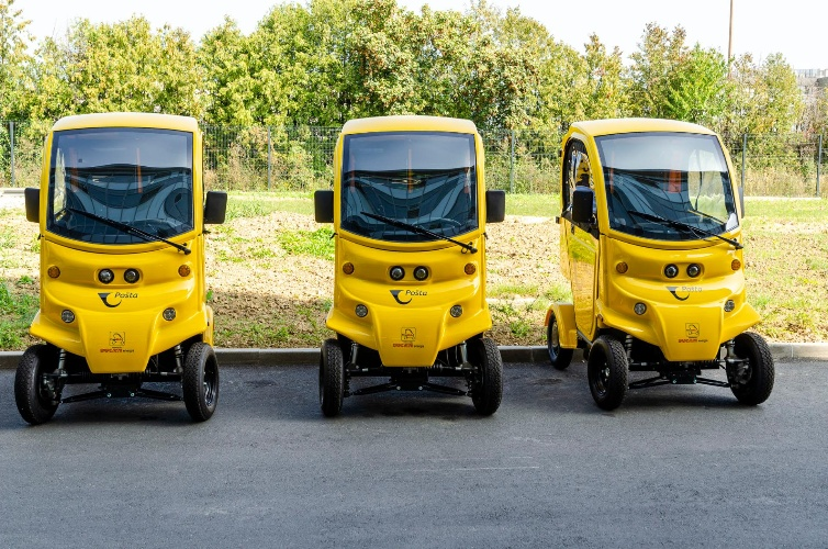 Croatian Post's Vehicle Fleet Expanded by 20 New Electric Vehicles