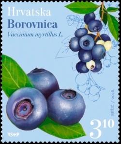 克罗地亚3月21日发行水果邮票